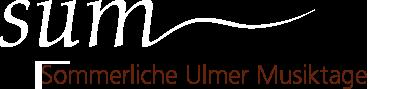 Sommerliche Ulmer Musiktage Logo